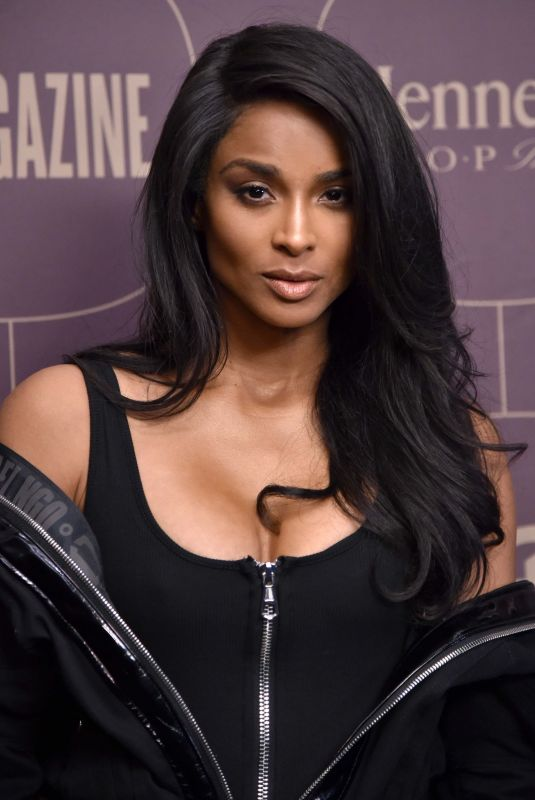 CIARA at Warner Music Pre-grammy Party in New York 01/25/2018