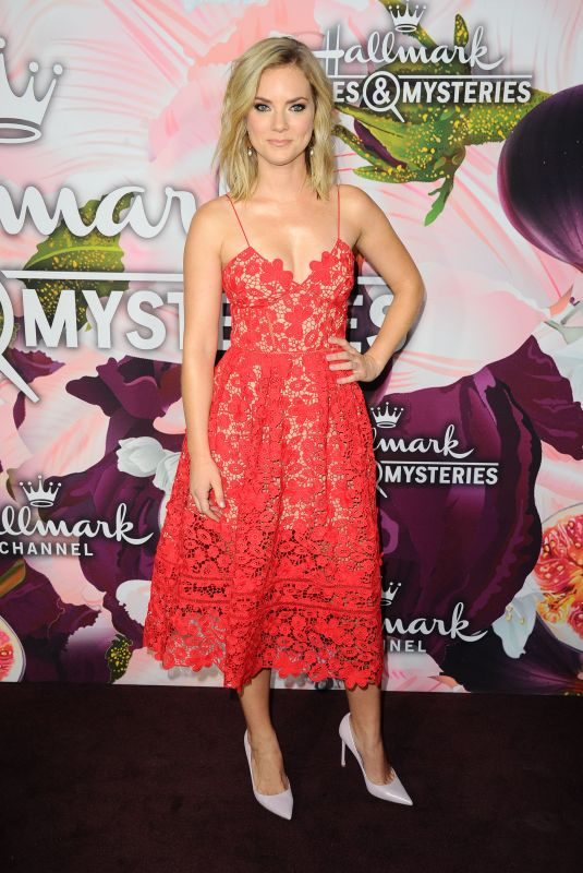CINDY BUSBY at Hallmark Channel All-star Party in Los Angeles 01/13/2018