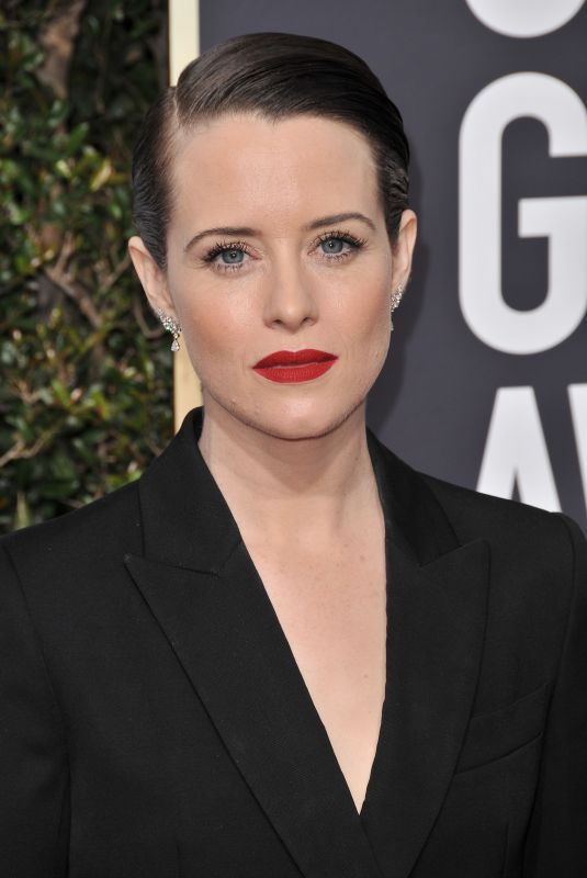 CLAIRE FOY at 75th Annual Golden Globe Awards in Beverly Hills 01/07/2018