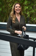CLAIRE SWEENEY Leaves ITV Studios in London 01/09/2018