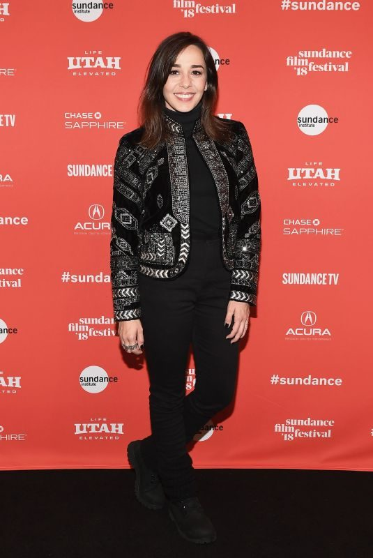 CLARISSA KISTE at Rust Premiere at 2018 Sundance Film Festival in Park City 01/20/2018