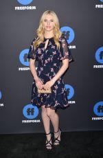 CLAUDIA LEE at 2018 Freeform Summit in Hollywood 01/18/2018