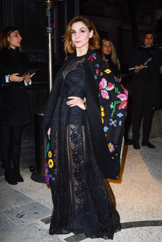 CLOTILDE COURAU at Valentino Show at Spring/Summer 2018 Haute Couture Fashion Week in Paris 01/24/2018