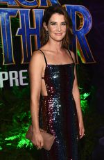 COBIE SMULDERS at Black Panther Premiere in Hollywood 01/29/2018