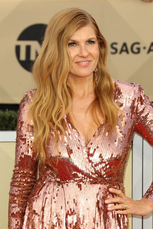 CONNIE BRITTON at Screen Actors Guild Awards 2018 in Los Angeles 01/21/2018