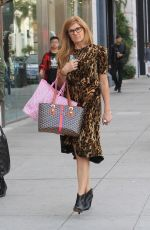 CONNIE BRITTON Shopping on Rodeo Drive in Beverly Hills 01/05/2018