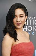 CONSTANCE WU at 2018 Critics' Choice Awards in Santa Monica 01/11/2018