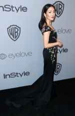 CONSTANCE WU at Instyle and Warner Bros Golden Globes After-party in Los Angeles 01/07/2018