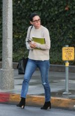 COURTENEY COX Out and About in Beverly Hills 01/09/2018