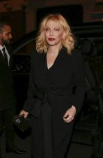 COURTNEY LOVE at Yves Saint Laurent Night at Beauty Hotel in Paris 01/17/2018