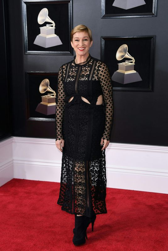 CRYSTAL LEWIS at Grammy 2018 Awards in New York 01/28/2018
