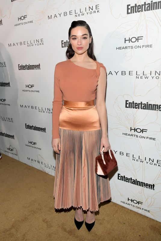 CRYSTAL REED at Entertainment Weekly Pre-SAG Party in Los Angeles 01/20/2018