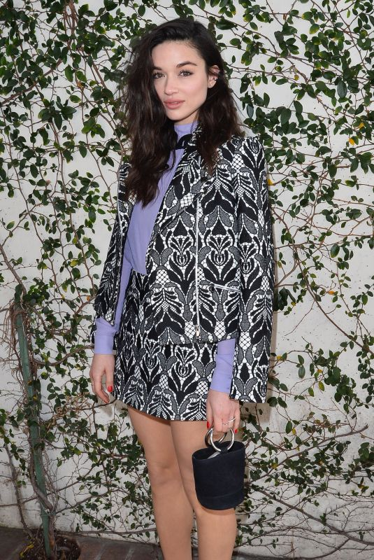CRYSTAL REED at W Magazine