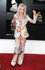 CYNDI LAUPER at Grammy 2018 Awards in New York 01/28/2018