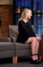 DAKOTA FANNING at Late Night with Seth Meyers in New York 01/25/2018