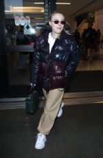 DAKOTA FANNING at Los Angeles International Airport 01/20/2018