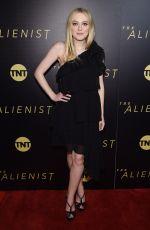 DAKOTA FANNING at The Alienist Premiere in New York 01/16/2018