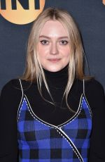 DAKOTA FANNING at TNT and TBS Lodge at Sundance Film Festival 01/19/2018