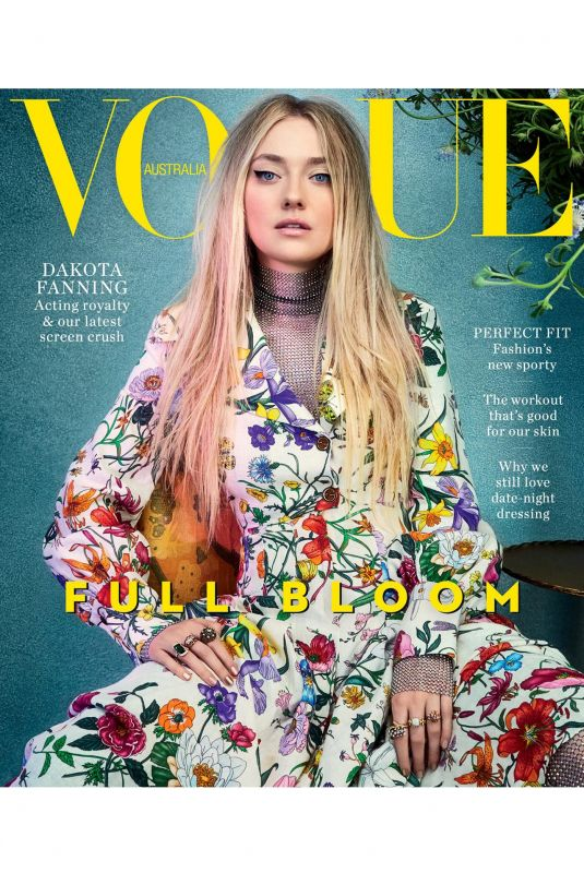 DAKOTA FANNING in Vogue Magazine, Australia February 2018