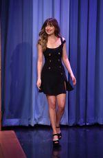 DAKOTA JOHNSON at Tonight Show Starring Jimmy Fallon 01/29/2018