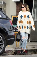 DAKOTA JOHNSON Out and About in Los Angeles 01/17/2018