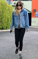 DAKOTA JOHNSON Out and About in West Hollywood 01/03/2018