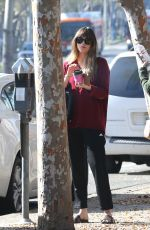 DAKOTA JOHNSON Out for Coffee in West Hollywood 01/12/2018