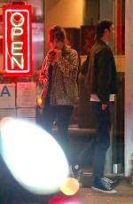 DAKOTA JOHSNON and Blake Lee Out for Dinner in Canyon Country 01/19/2018