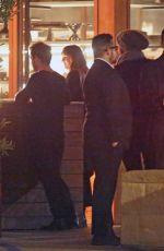 DAKOTA JOHSNON and Chris Martin Out for Dinner at Soho House in Malibu 01/12/2018