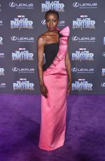 DANAI GURIRA at Black Panther Premiere in Hollywood 01/29/2018