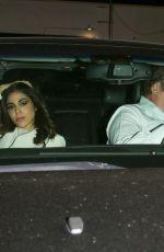 DANIELA PICK and Quentin Tarantino at Craig