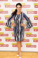 DANIELLE LLOYD at Loose Women Show in London 01/17/2018