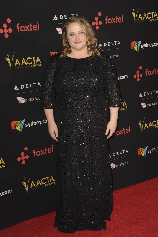 DANIELLE MACDONALD at 7th AACTA International Awards in Los Angeles 01/05/2018