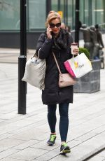 DARCEY BUSSELL Out and About in Leeds 01/26/2018