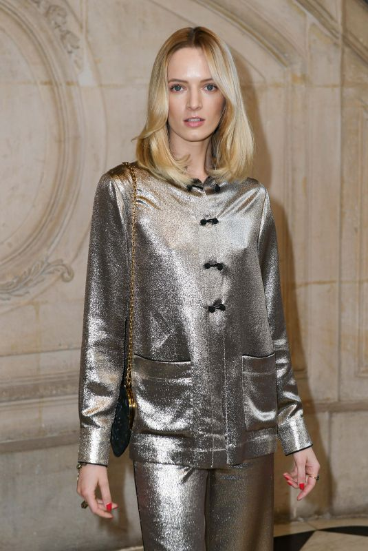 DARIA STROKOUS at Cristian Dior Show at Spring/Summer 2018 Haute Couture Fashion Week in Paris 01/23/2018