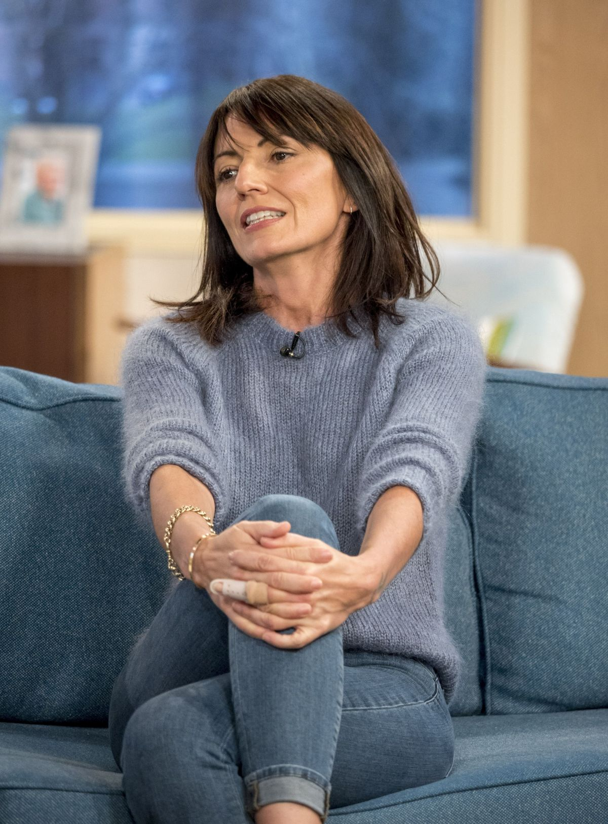 davina mccall at this morning show in london 01 09 2018