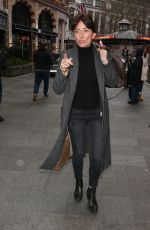 DAVINA MCCALL Out and About in London 01/08/2018