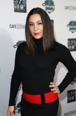 DAWN NOEL at Cafe Con Leche Premiere in Los Angeles 01/25/2018