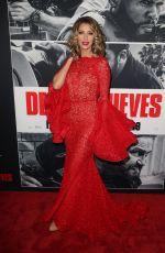 DAWN OLIVIERI at Den of Thieves Premiere in Los Angeles 01/17/2018