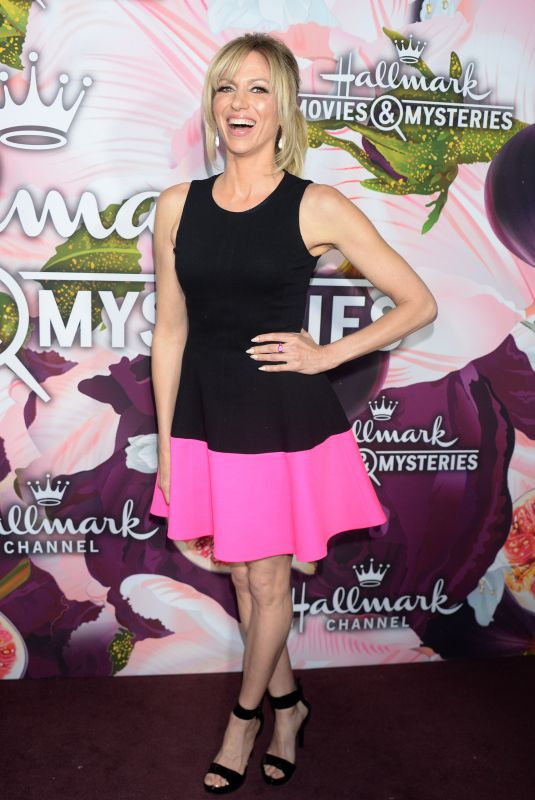 DEBBIE GIBSON at Hhallmark Channel All-star Party in Los Angeles 01/13/2018