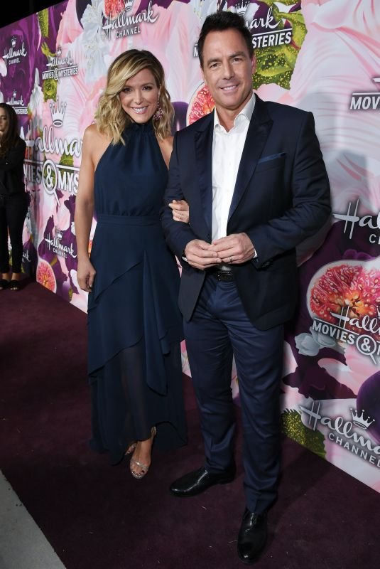 DEBBIE MATENOPOULOS at Hhallmark Channel All-star Party in Los Angeles 01/13/2018