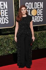DEBRA MESSING at 75th Annual Golden Globe Awards in Beverly Hills 01/07/2018