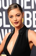 DEMI-LEIGH NEL-PETERS at 75th Annual Golden Globe Awards in Beverly Hills 01/07/2018