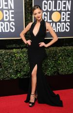 DEMI-LEIGH NEL-PETERS at Instyle and Warner Bros Golden Globes After-party in Los Angeles 01/07/2018