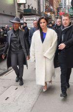 DEMI LOVATO Leaves Good Morning America in New York 01/24/2018