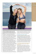 DENISE RICHARDS in Pilates Style Magazine, January/February 2018
