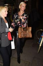 DENISE VAN OUTEN Arrives at Hello Love Robinsons Event in London 01/30/2018