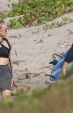DIANE KRUGER and Norman Reedus at a Beach in Costa Rica 01/02/2018