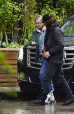 DIANE KRUGER and Norman Reedus Leaves Four Season Hotel in Los Angeles 01/09/2018