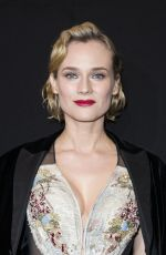 DIANE KRUGER at Giorgio Armani Prive Show at 2018 Haute Couture Fashion Week in Paris 01/23/2018